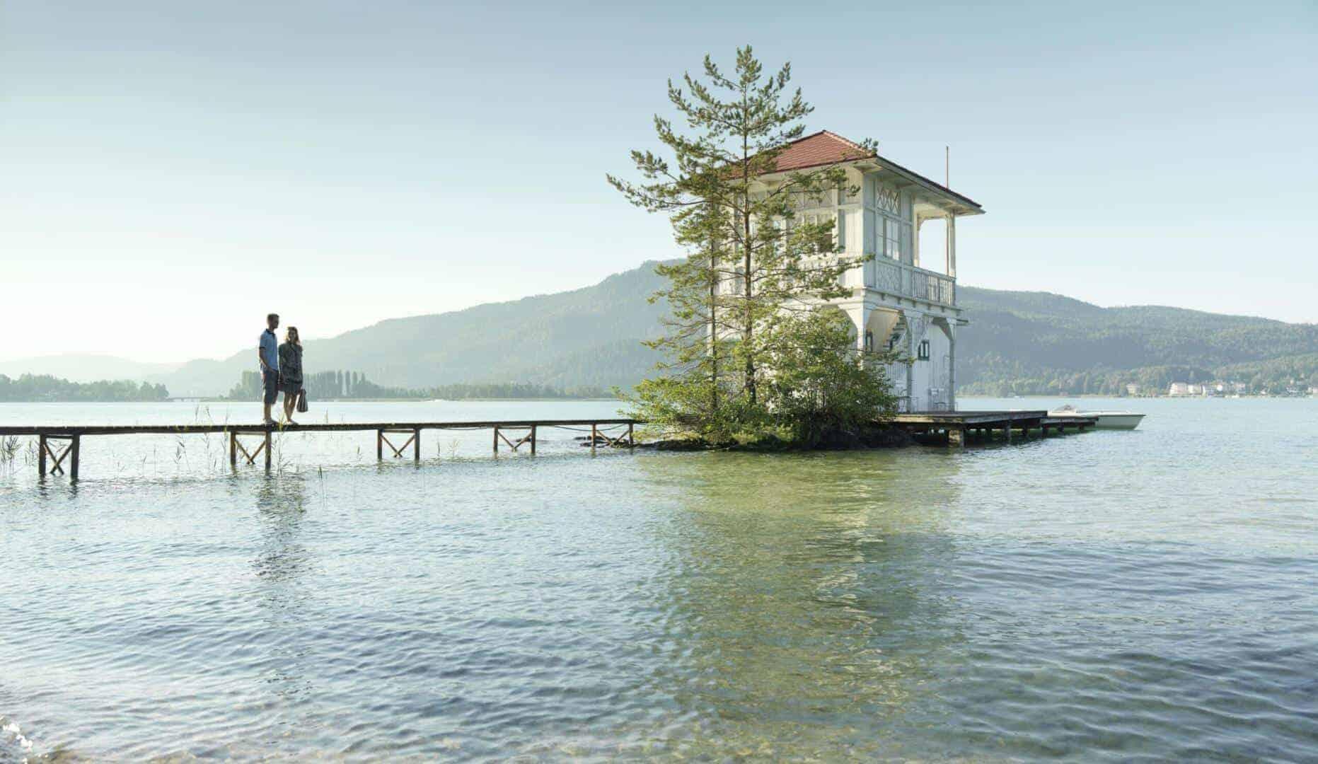 Bootshaus am Wörthersee in Kärnten