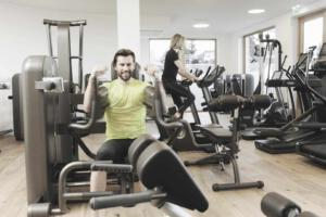 Fitnessstudio im Hotel Höflehner