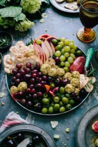 Vielfalt an vegetarischen Köstlichkeiten