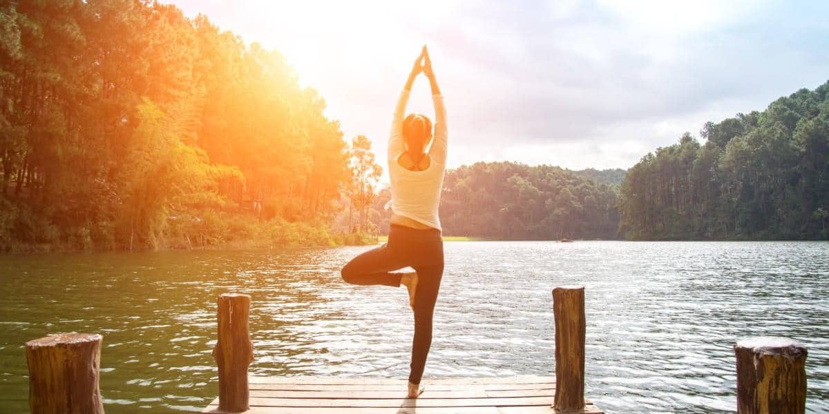 Yoga im Wellnessurlaub
