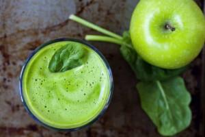 Grüner Smoothie mit viel Vitamin C