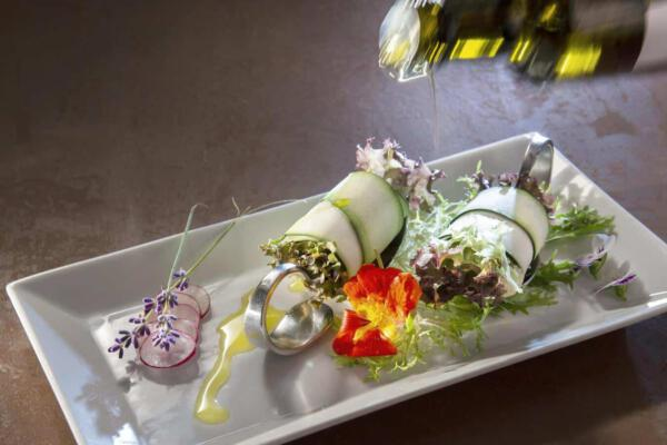 Vegane Vorspeise im Reduce Hotel Vital