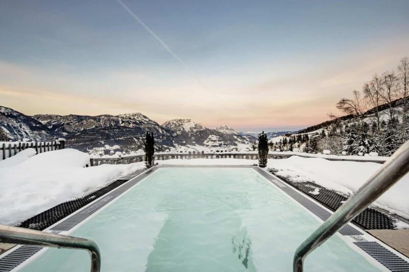 Schwebewhirlpool im Natur- und Wellnesshotel Höflehner
