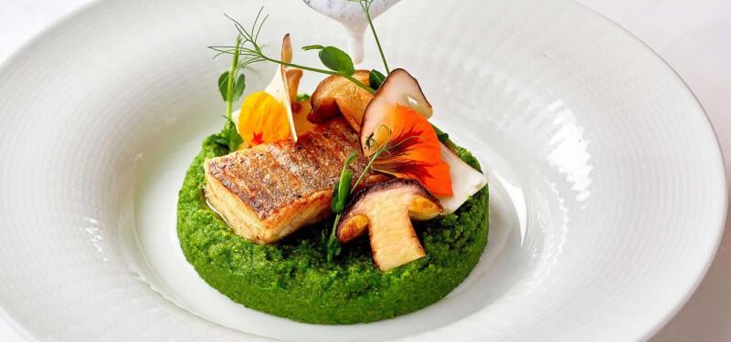Regionale, saisonale Küche auf Gourmetniveau trifft auf gesunde, schmackhafte ayurvedische Cuisine