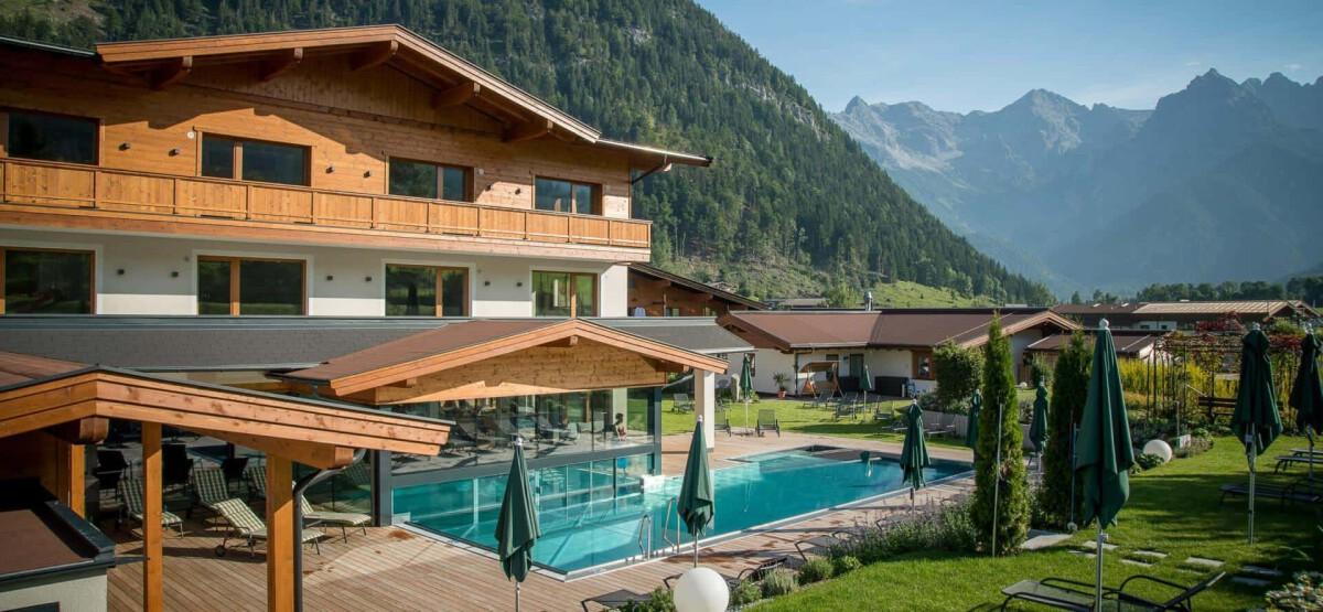 Gewinnspiel für einen Wellnessurlaub im Naturhotel Kitzspitz